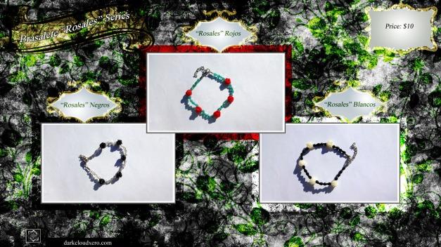 Brasalete 'Rosales' Series