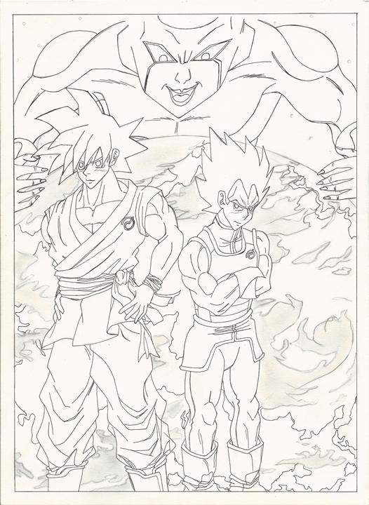 Goku Vegeta II resize