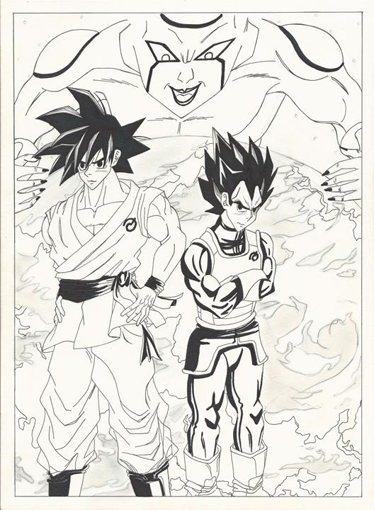 Goku Vegeta III resize