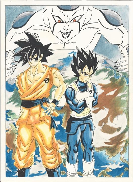 Goku Vegeta IV resize