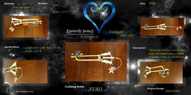 Oathkeeper keyblade