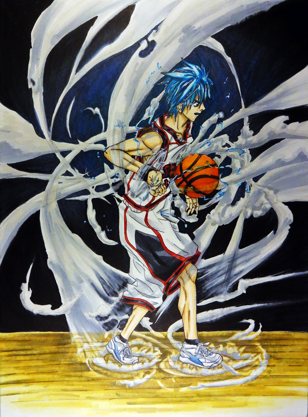 Kuroko Dark Background