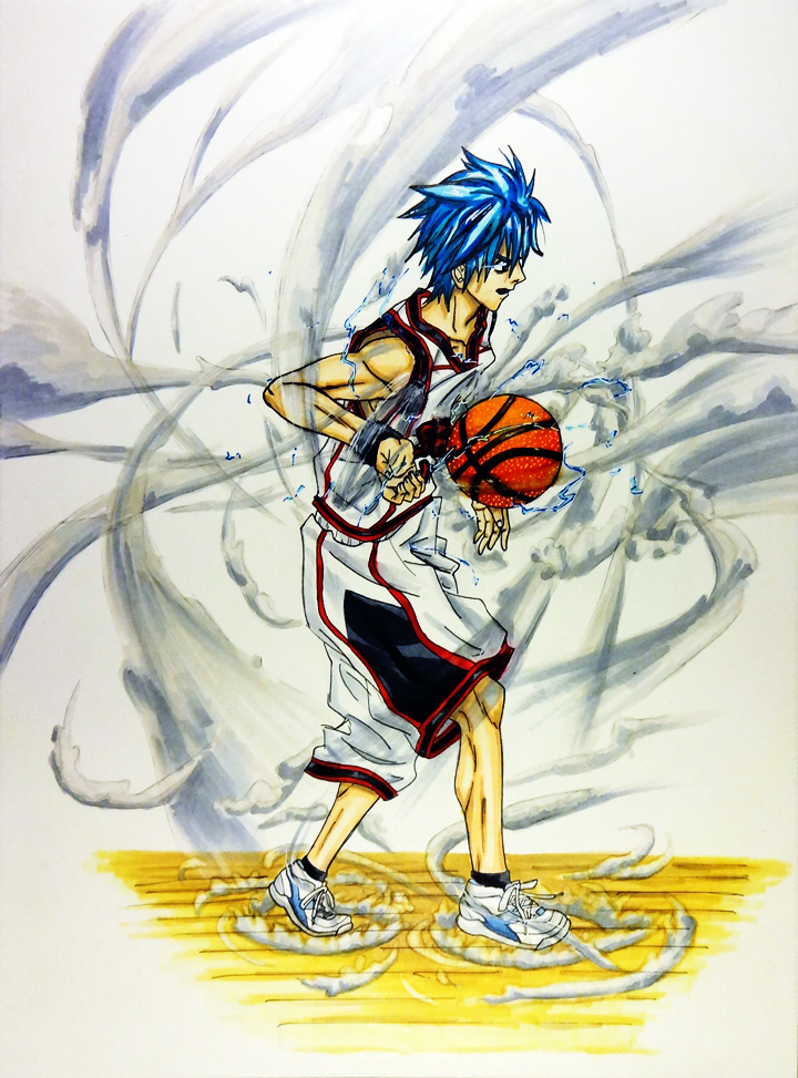 Kuroko White background