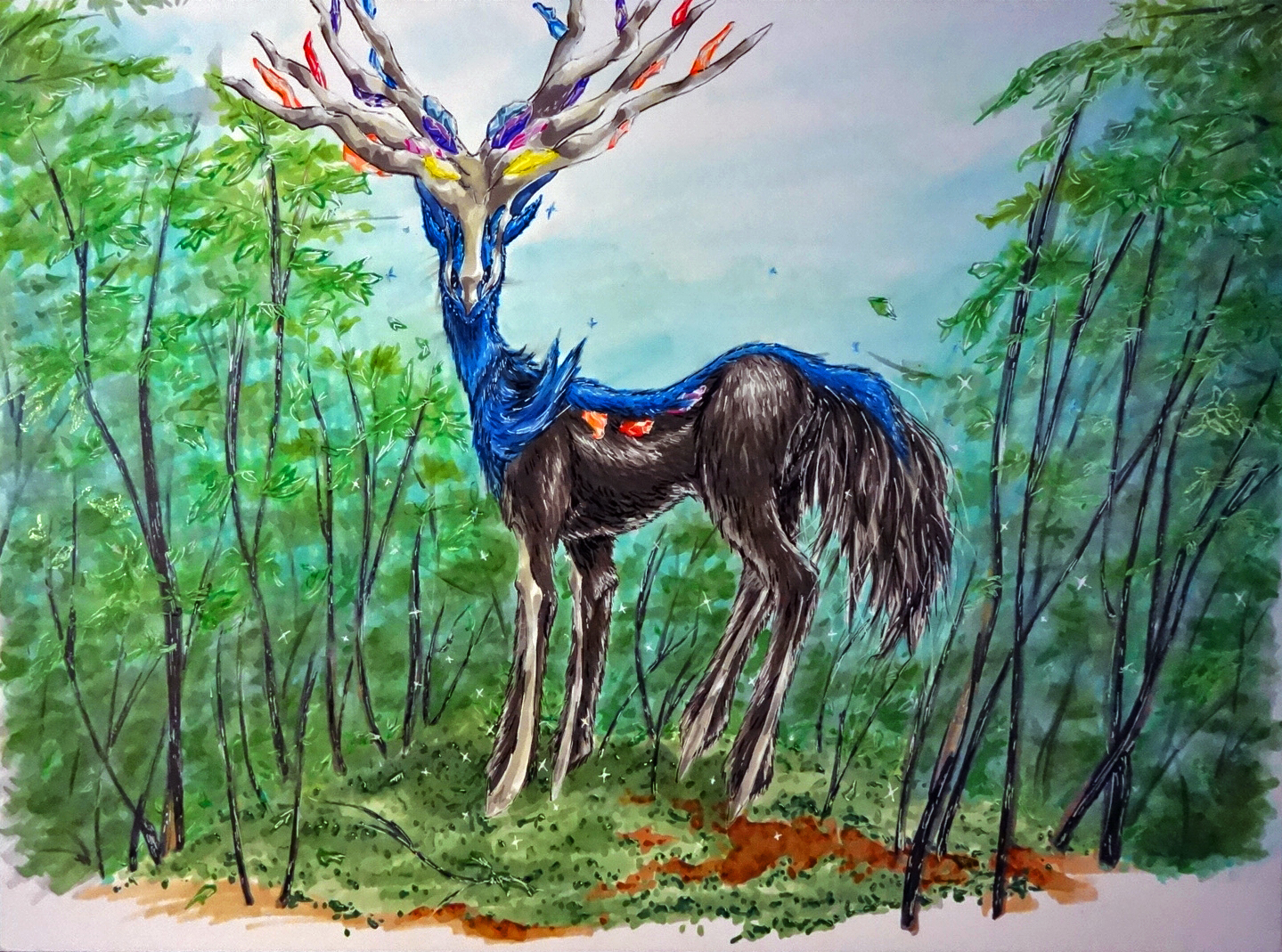 Xerneas - A Chance Encounter