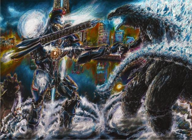 Godzilla vs gypsy danger versionII resize