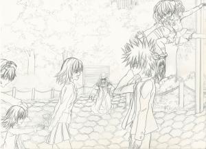 Misaka and Touma II resize