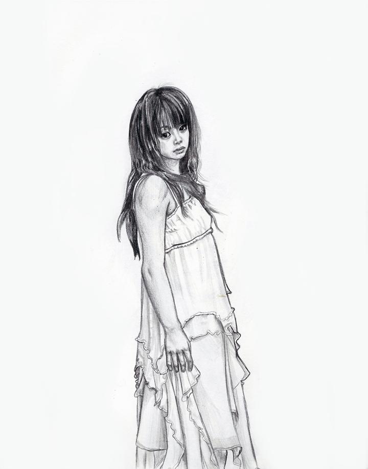 Ai Takahashi pencil drawing