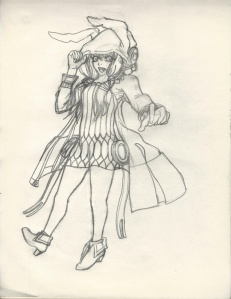 Yuzuki Yukari rough draft resize