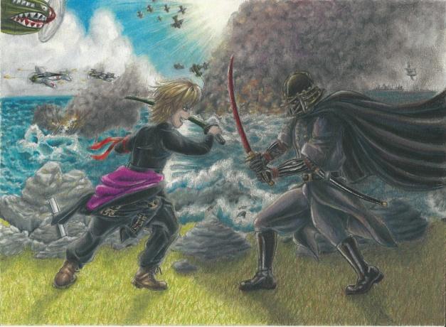 Luke vs Vader XVII nu resize