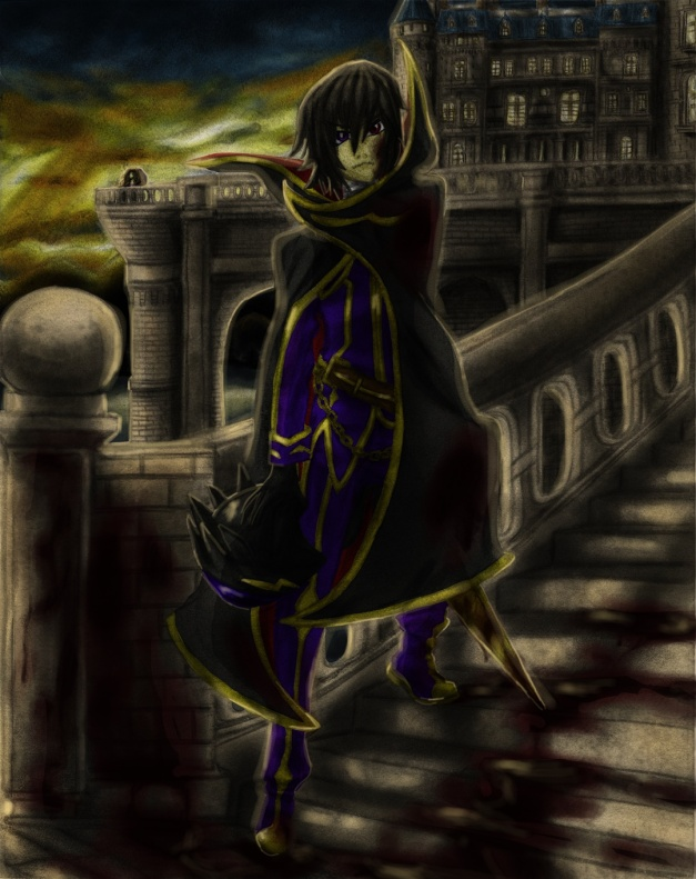 Lelouch - Blood stained gift for her future resize